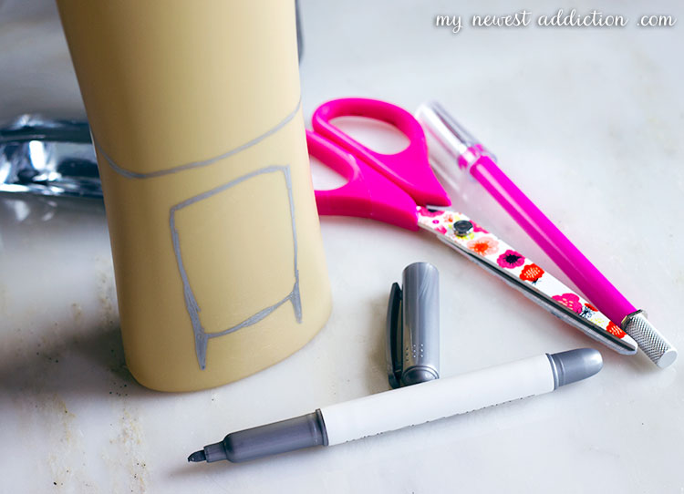 DIY Shower Caddy | Recycle Your Shampoo Bottle by making this handy shower caddy.