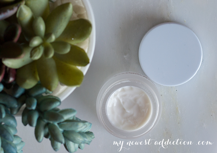 a.m. skincare routine | Fresh Lotus Eye Cream