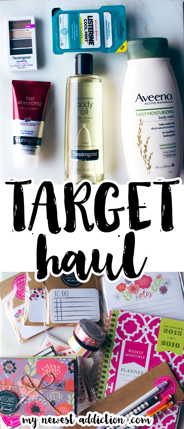 Target Haul | Save with the Cartwheel App