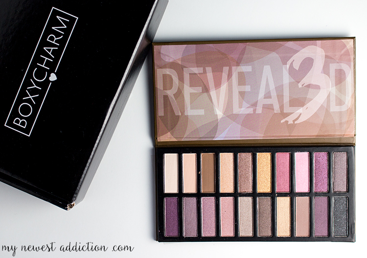 Boxycharm August 2015 | Reveal3d