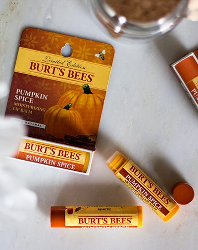 Burt's Bees Limited Edition Pumpkin Spice Lip Balm
