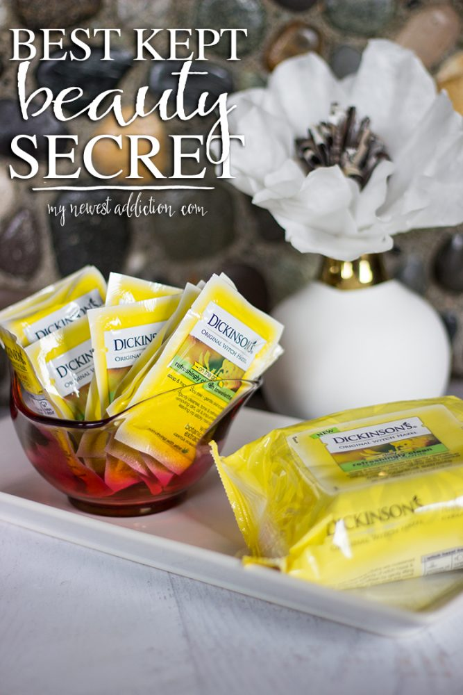 Dickinson's Witch Hazel Refreshingly Clean Cleansing Cloths