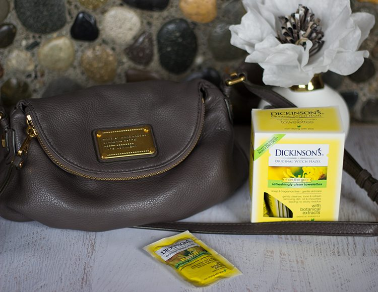 Dickenson's Witch Hazel Refreshingly Clean Cleansing Cloths On The Go