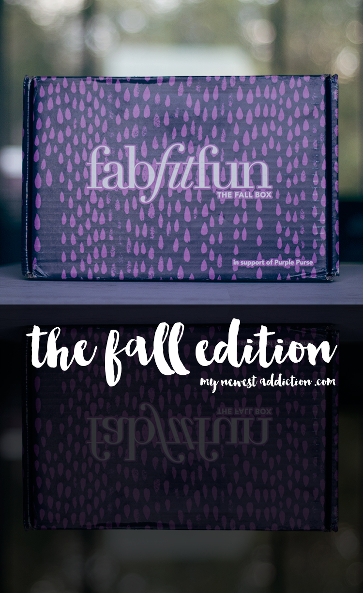 FabFitFun The Fall Edition 2015