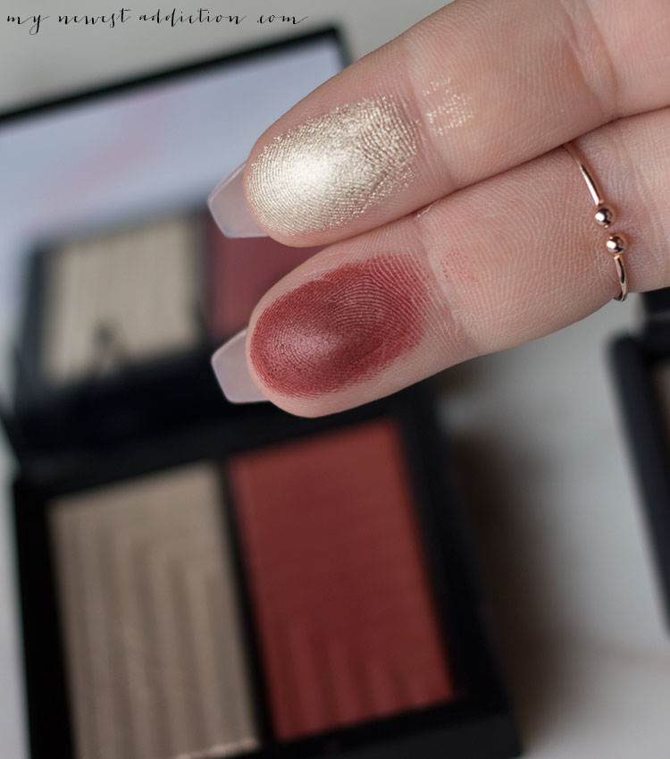 NARS Steven Klein | Dual Intensity Blush in Vengeful swatches
