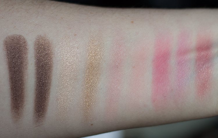 Guerlain Neiges et Merveilles Collection Swatches