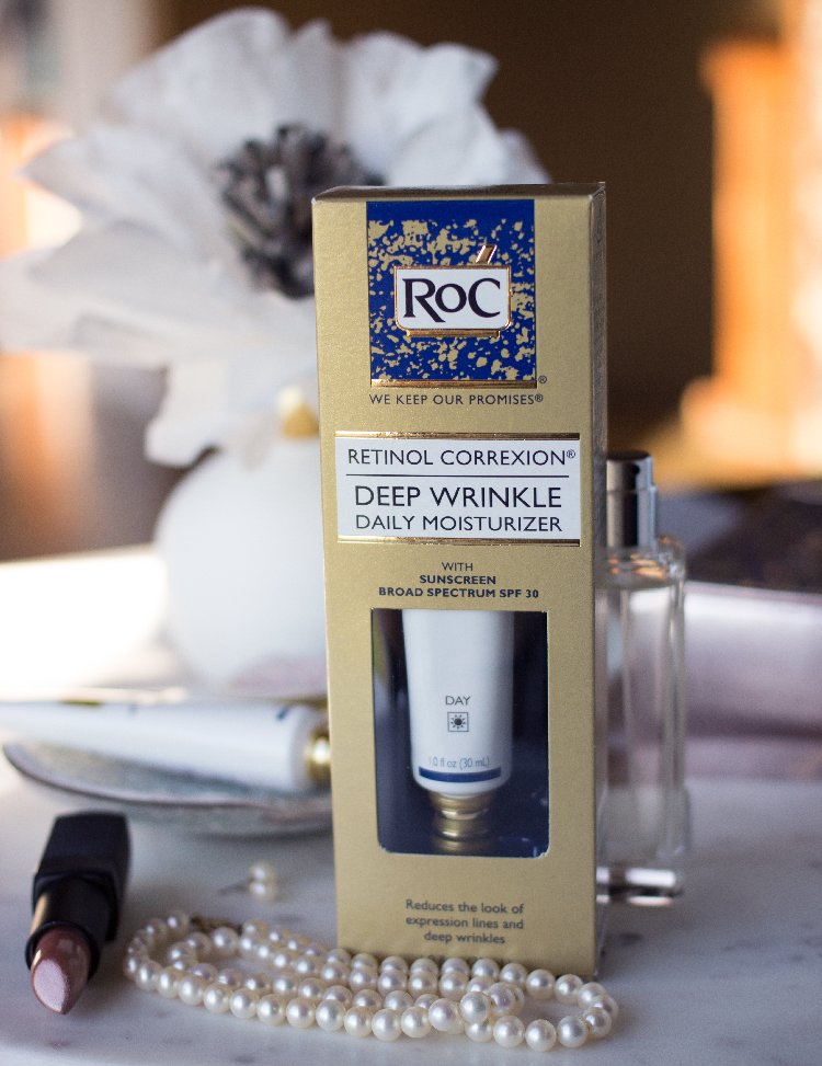 RoC Retinol Correxion Deep Wrinkle Daily Moisturizer with Sunscreen Broad Spectrum SPF30
