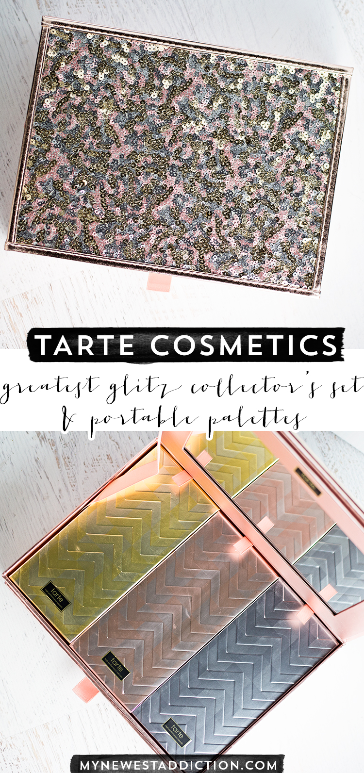 Tarte Greatest Glitz Collector's Set and Portable Palettes