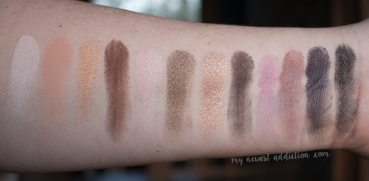 Too Faced La Petite Maison Swatches