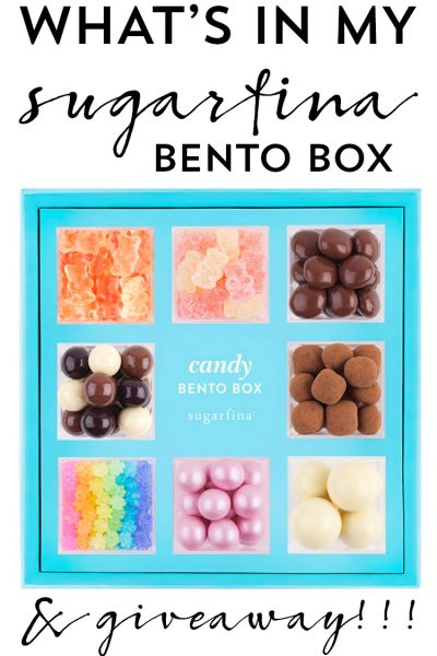 What's In My Sugarfina Bento Box + Giveaway