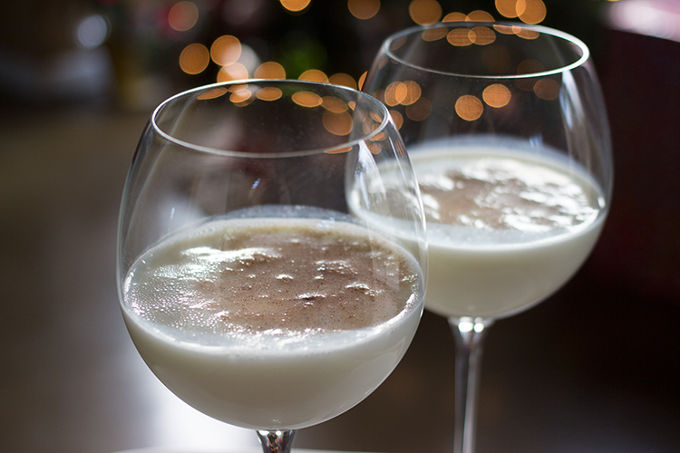 Almond Candy Eggnog Cocktail - My Newest Addiction