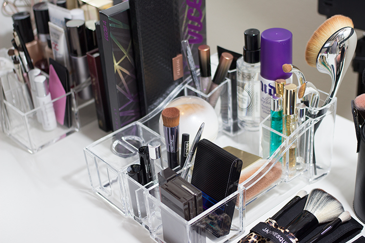 Caboodles Crystal Clear Acrylic Storage