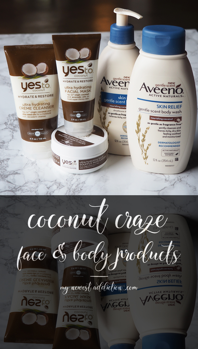 Coconut Craze | Face and Body Products