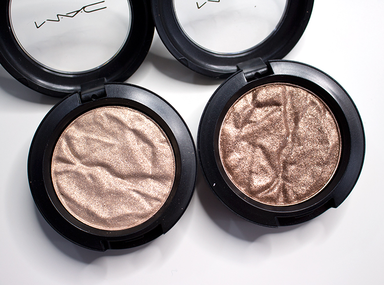 MAC Faerie Whispers Foiled Eyeshadows in Enchanted Forest and Fairy Land