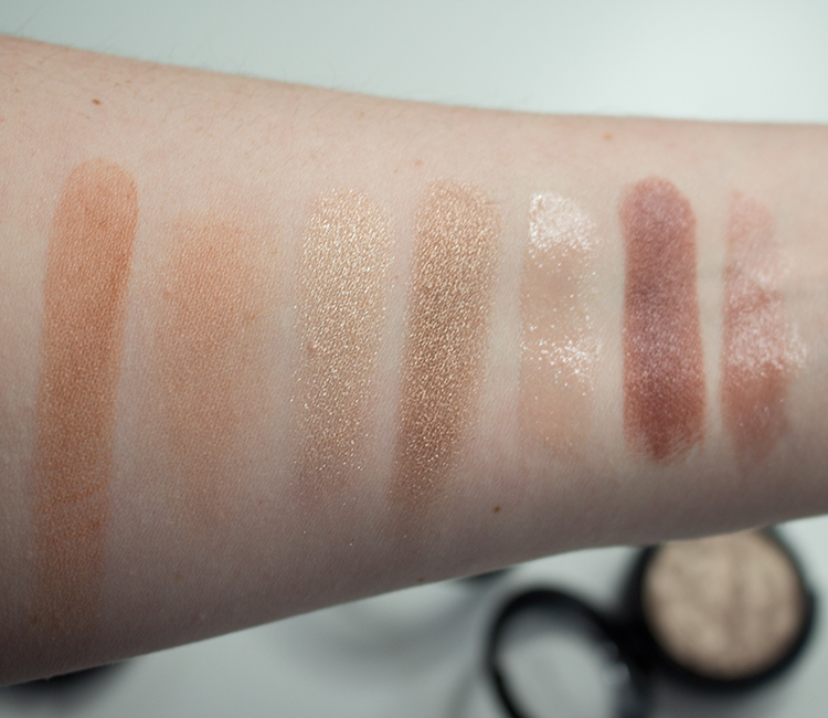 MAC Faerie Whispers Swatches