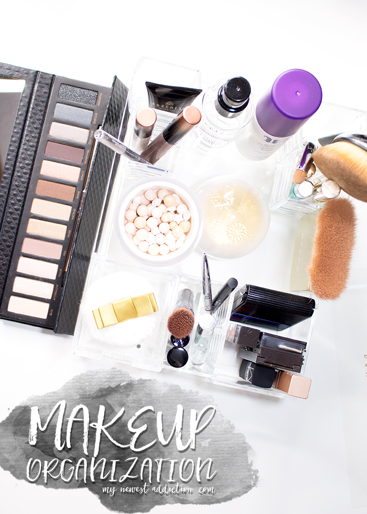 Makeup Organization with Caboodles