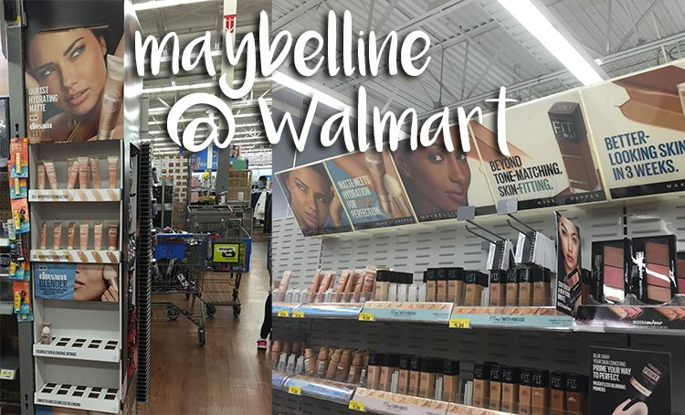 Maybelline at Walmart