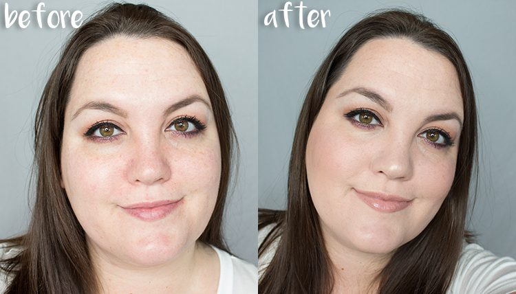 Maybelline Before and After Pics