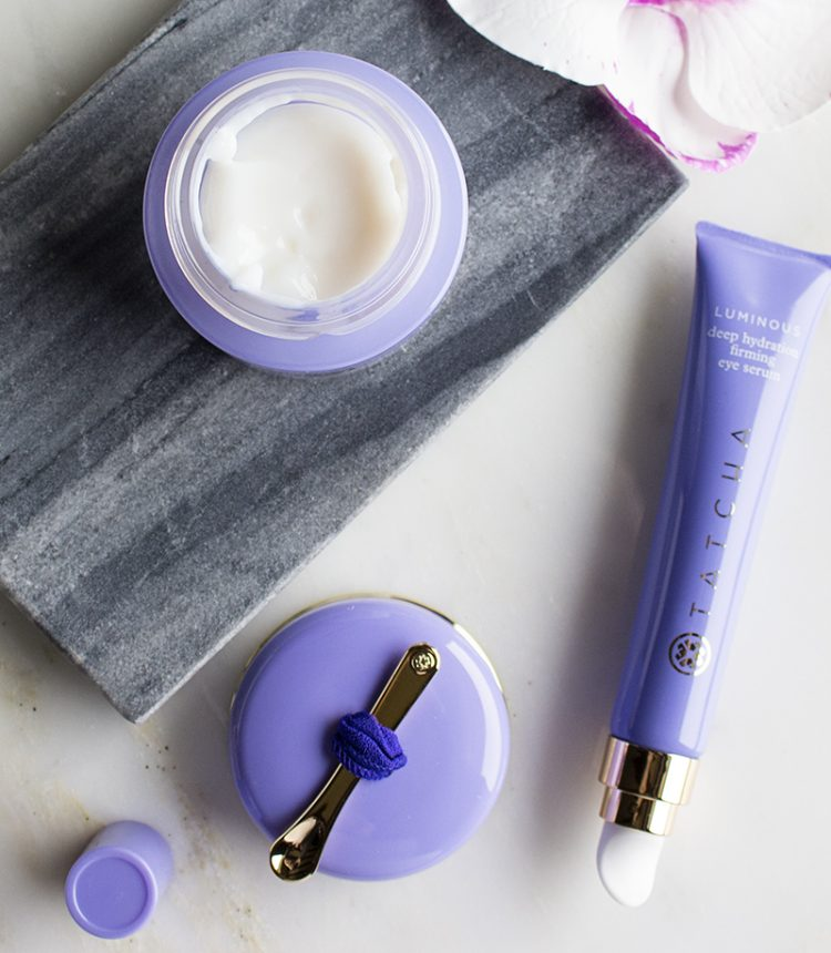 Tatcha Luminous | Overnight Memory Serum Concentrate and Deep Hydration Firming Eye Serum