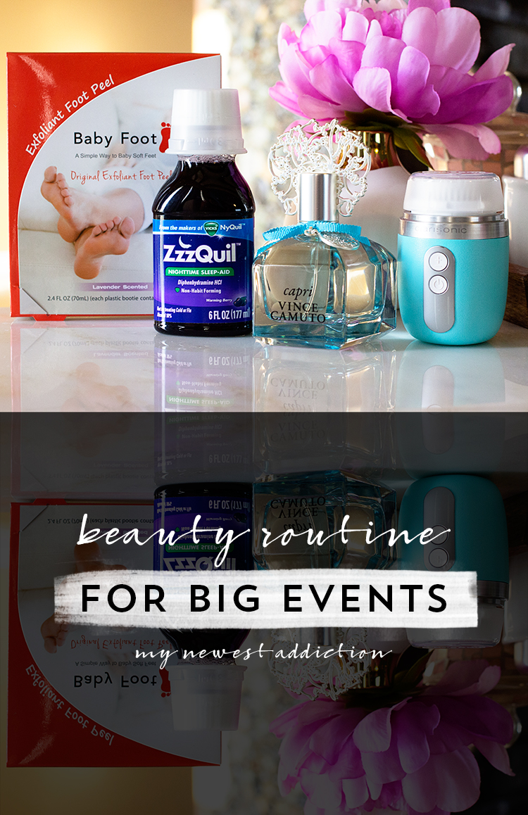 Beauty Routine for Big Events