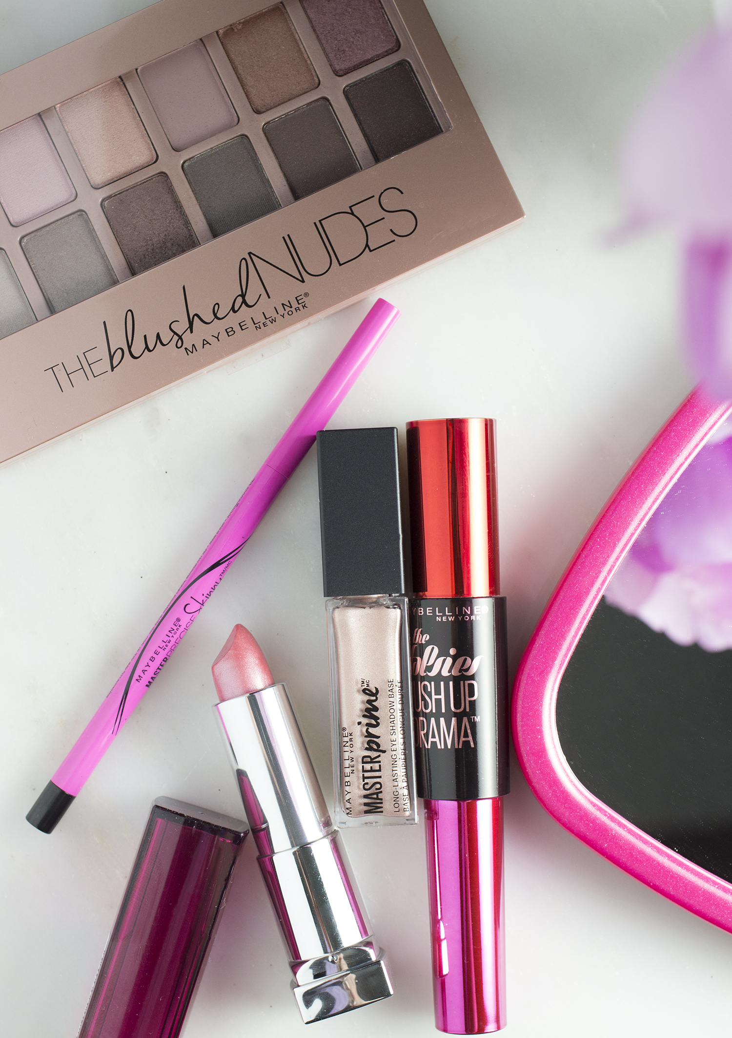 Maybelline The Blushed Nudes| 5 Minutes Romantic Smokey Eye