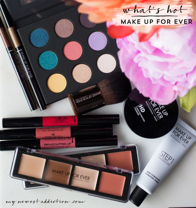 What's Hot at Make Up For Ever