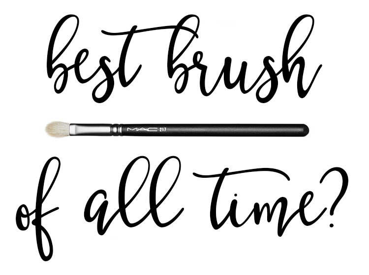 Best Brush Of All Time? Mac 217