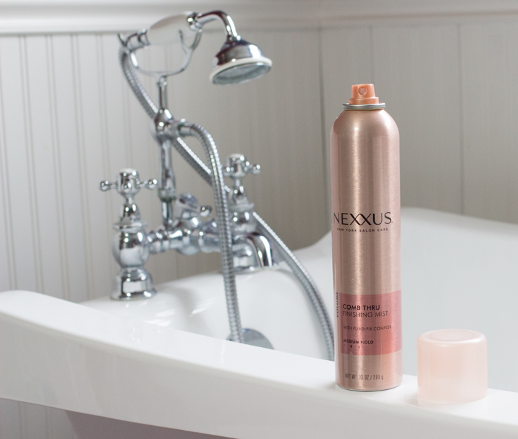 5 Easy Steps For Adding Texture To Your Hair | Nexxus Comb Thru Finishing Spray