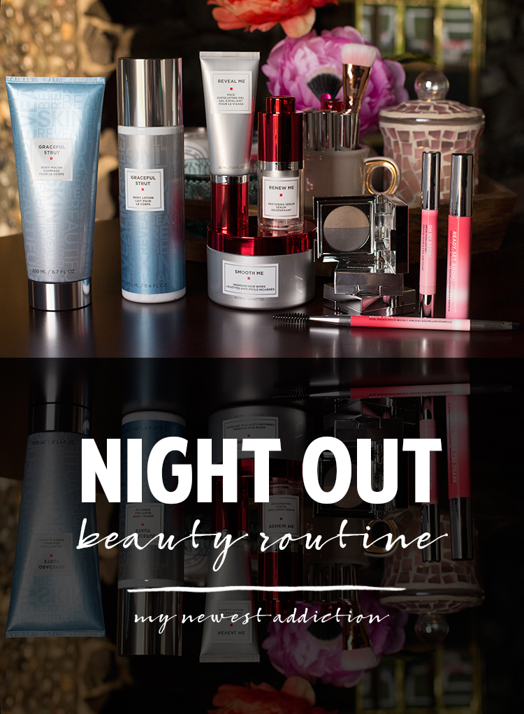 Night Out Beauty Routine | European Wax Center Strut 365