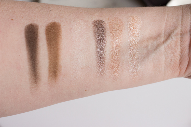 Viseart Theory Palette in Cashmere Swatches