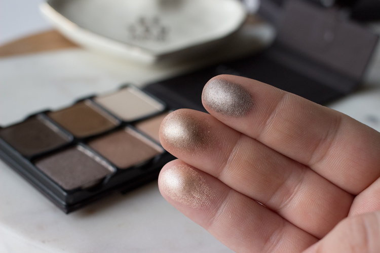 Viseart Theory Palette in Cashmere Shimmer Swatches