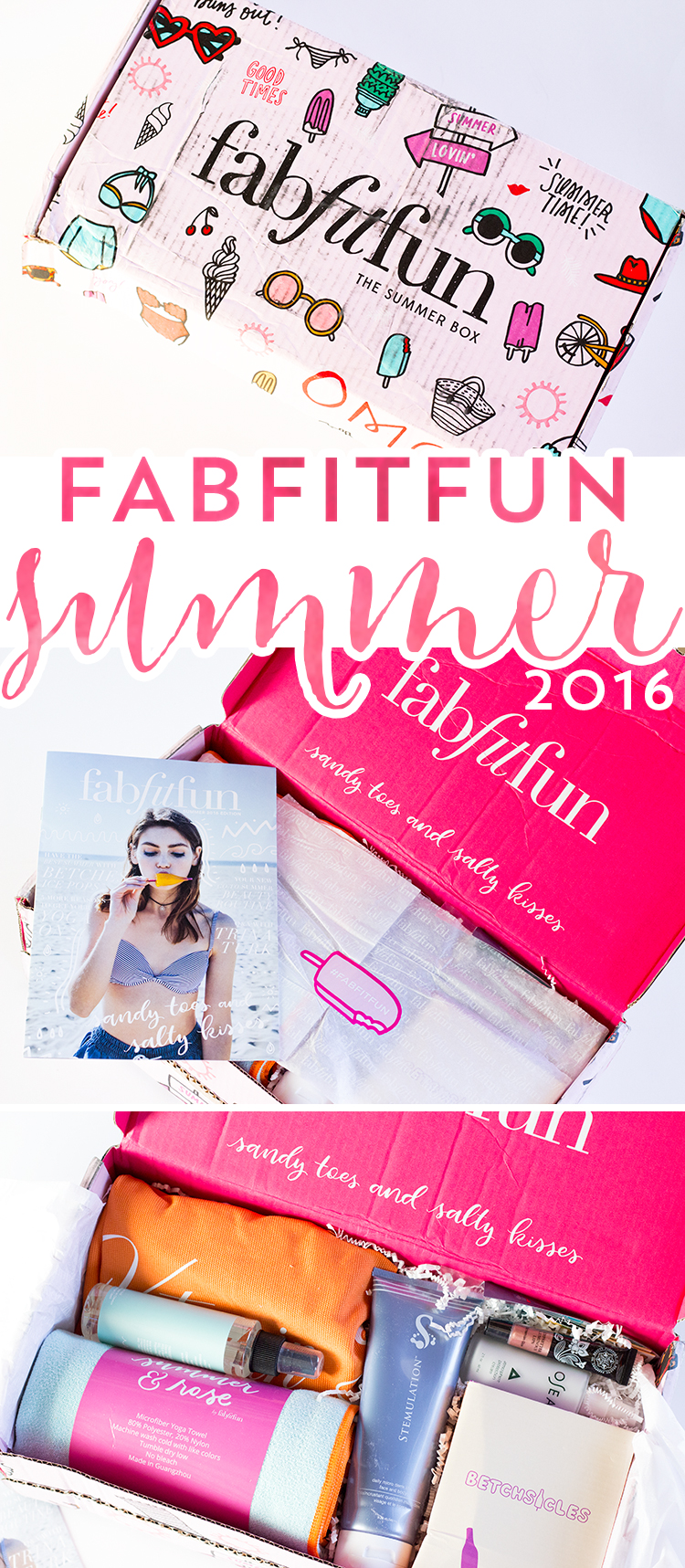 Fab Fit Fun Summer 2016 Box