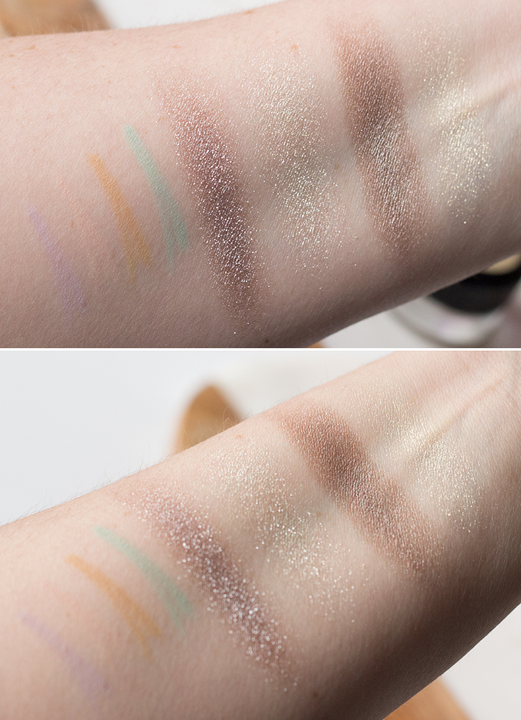 MAC Soft Serve Swatches