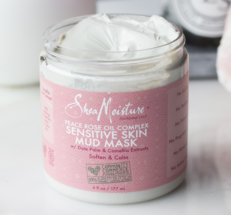 SheaMoisture Sensitive Skin Mud Mask