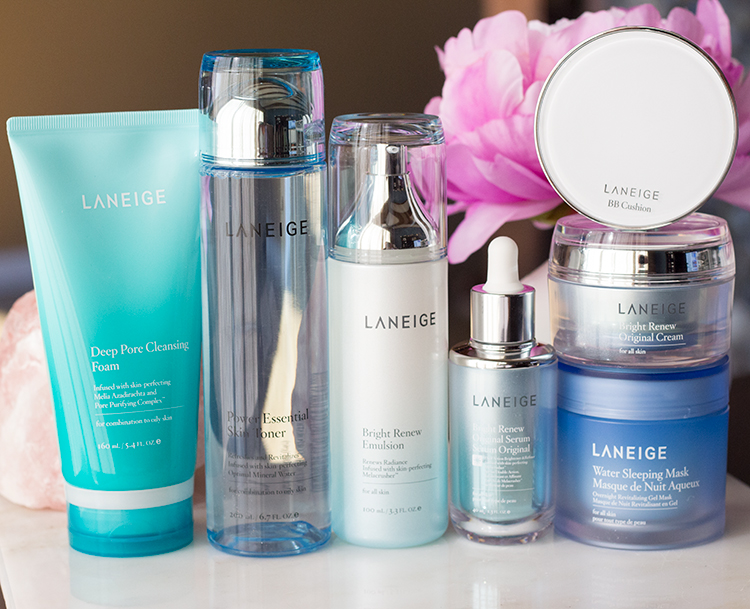 7 Important Skincare Steps - Laneige Power of 7 Skincare