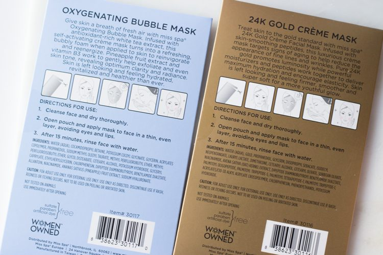 Miss Spa Sheet Masks