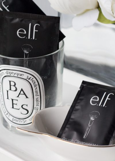 e.l.f. Beautifully Precise Brushes and Brush Cleanser Wipes
