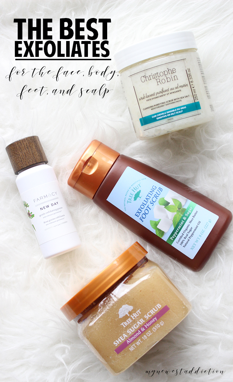 The Best Exfoliates for the Face, Body, Feet, & Scalp