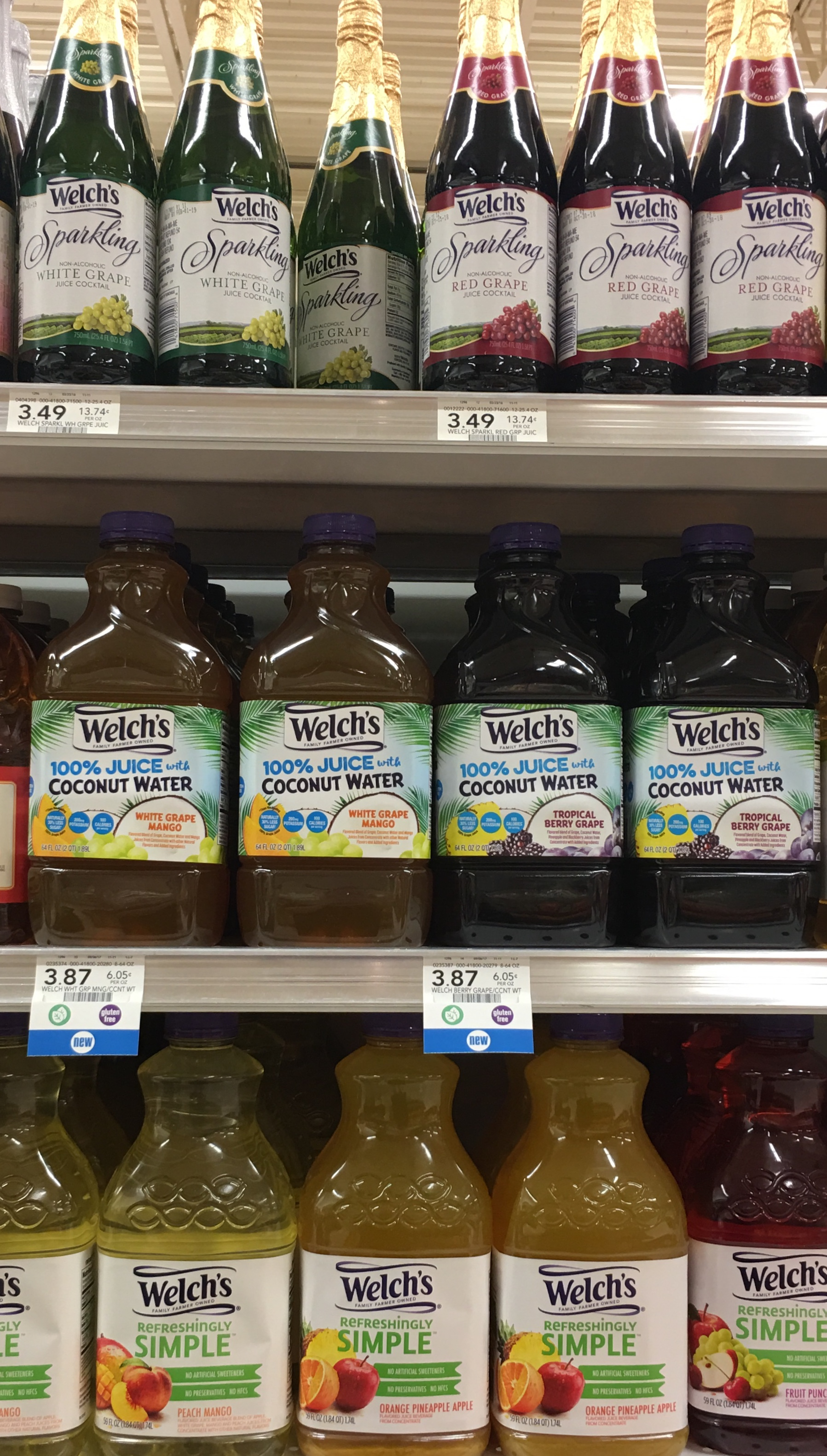 Welch's Grape Juice with Coconut Water